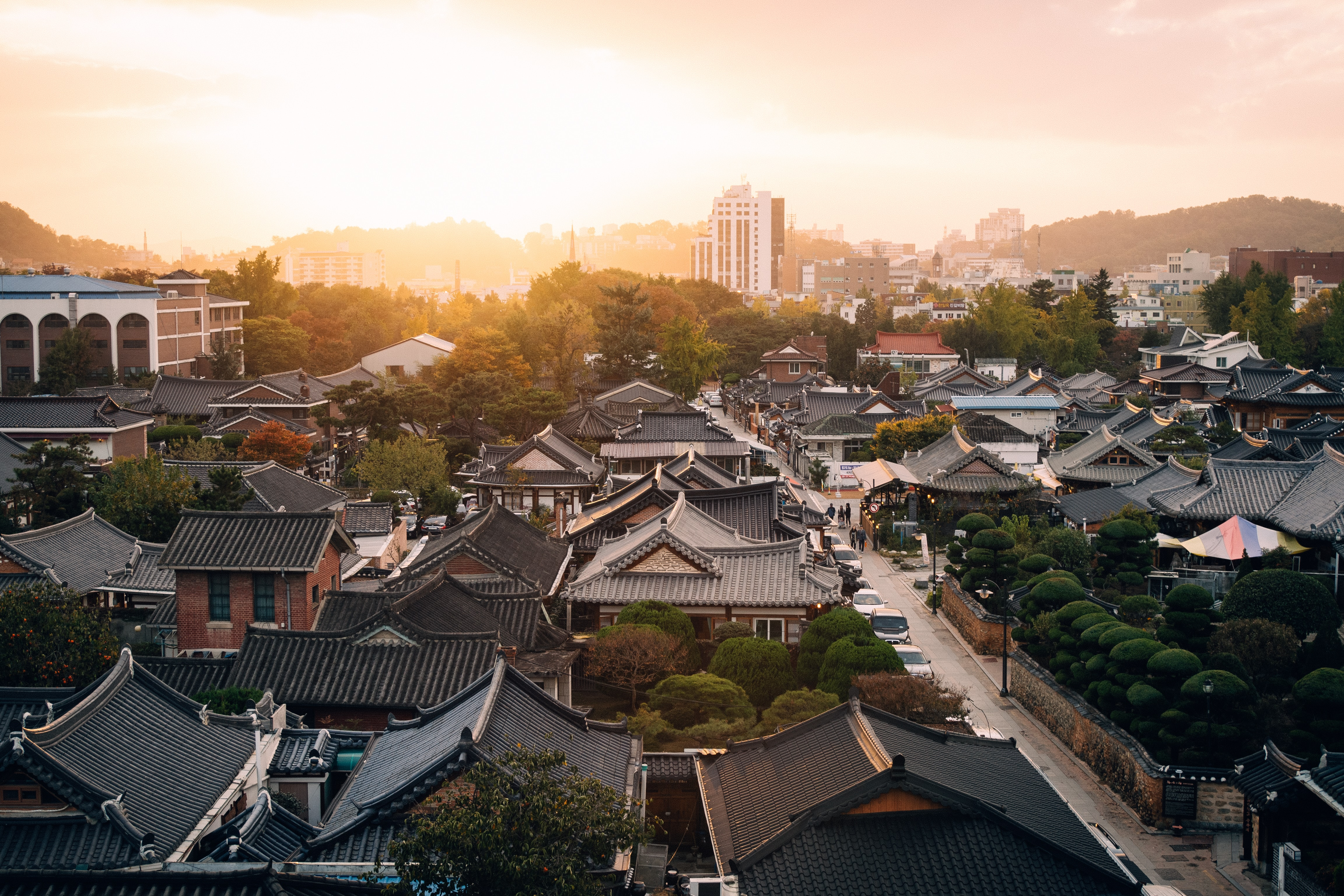 Korean kansankylä