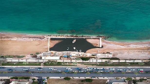 Photo of Greece Beachside Road