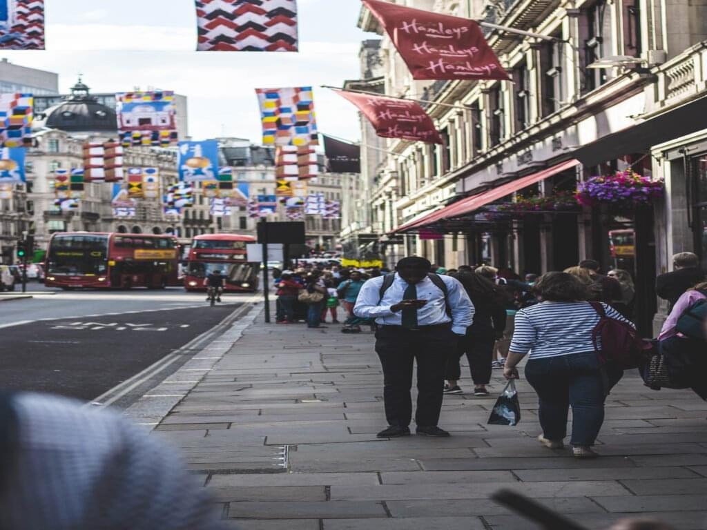 Photo of United Kingdom Sidewalk