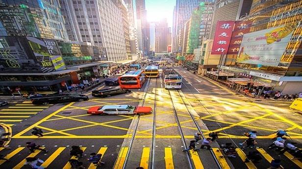Photo of Hong Kong Intersection Road