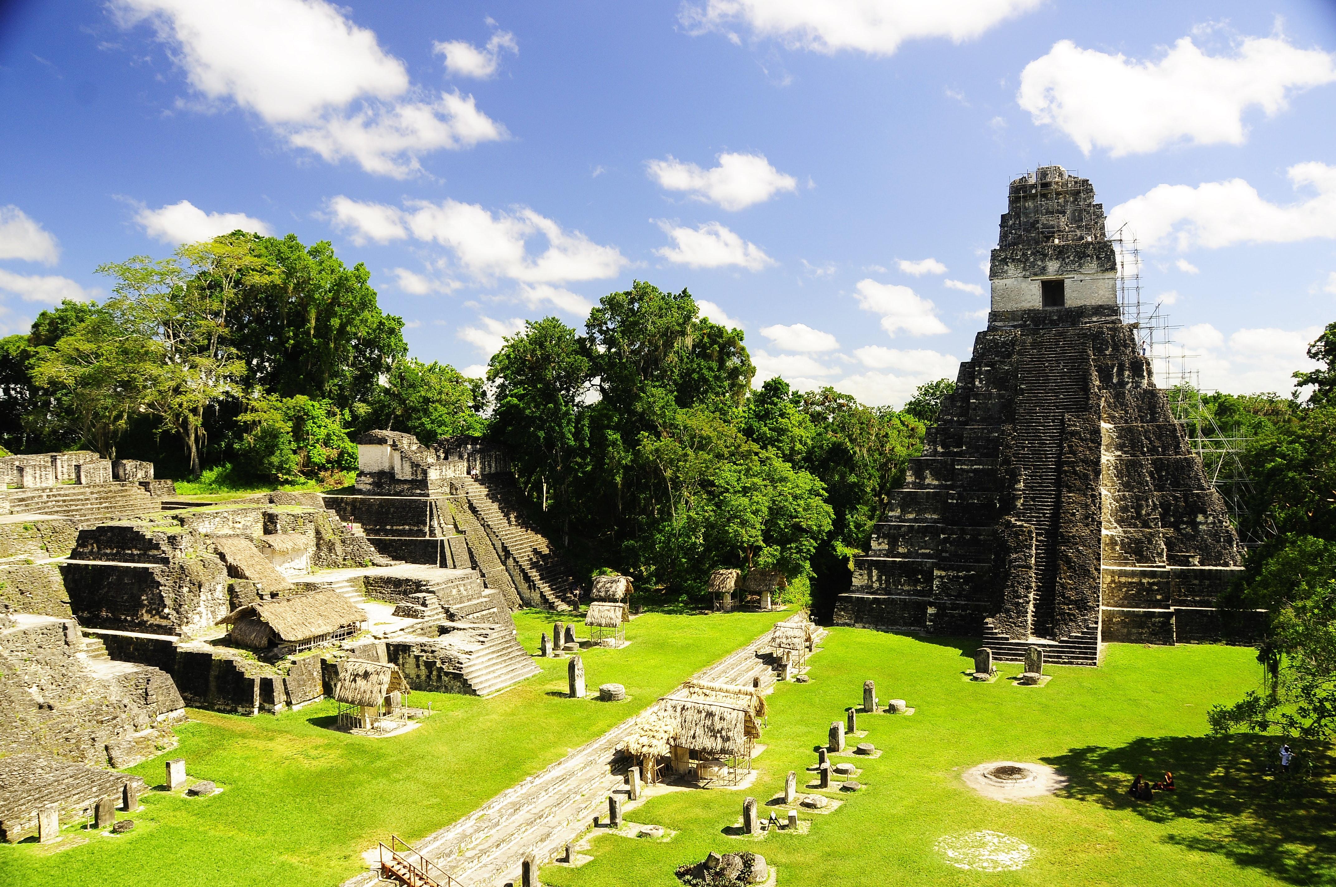 Mayan Ruins of Tikal Photo by Hector Pineda