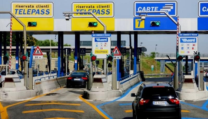 Larawan ng Italya ng Toll Station