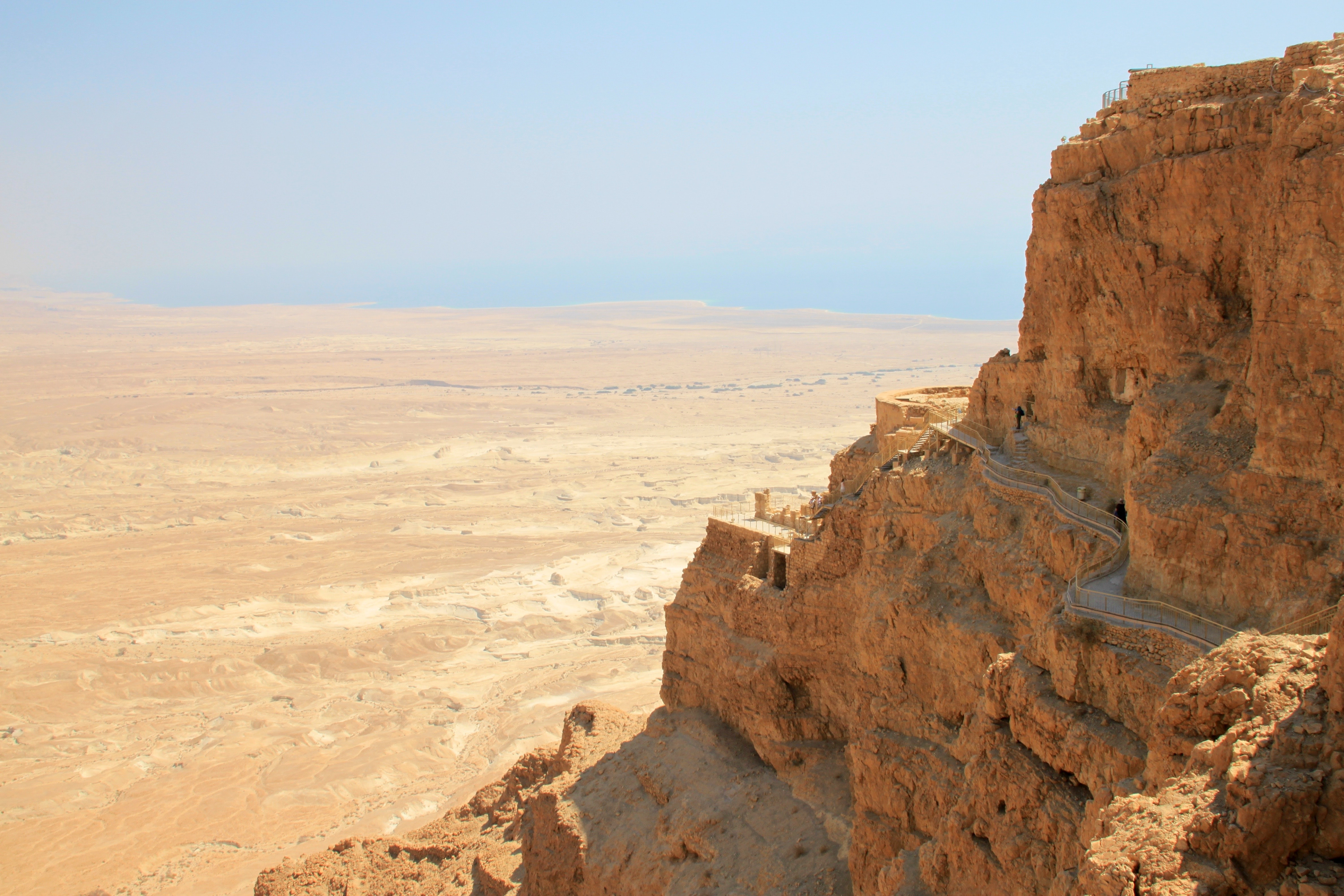 Masada Israel photo by  Sylvain Brison